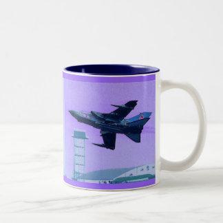 Panavia Tornado Royal Air Force Two-Tone Coffee Mug