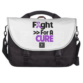 Pancreatic Cancer Fight For a Cure Laptop Messenger Bag