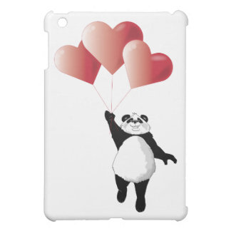 Panda and Balloons iPad Mini Cover