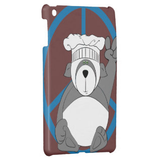 Panda Bear Chef Peace Cover For The iPad Mini
