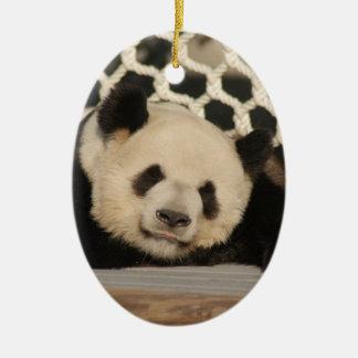 Panda Bear Christmas Ornaments