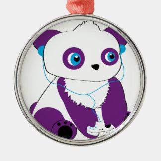 Panda Bear Gamer Christmas Ornament