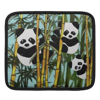 Panda Bear Habitat Sleeve For iPads