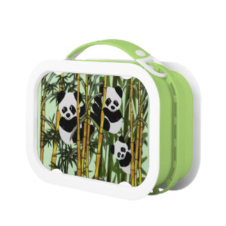 Panda Bear Habitat Lunch Box
