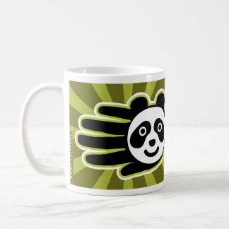 Panda Bear Hand Mugs