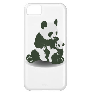 Panda Bear Love for her Baby iPhone 5C Case