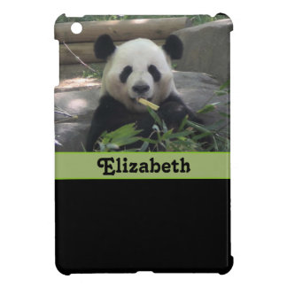 Panda Bear Personalized iPad Mini Case