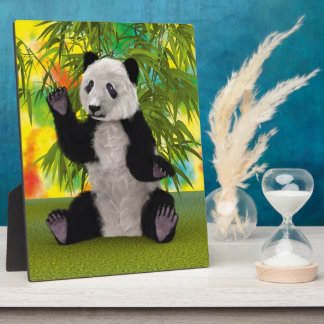 Panda Bear Plaque