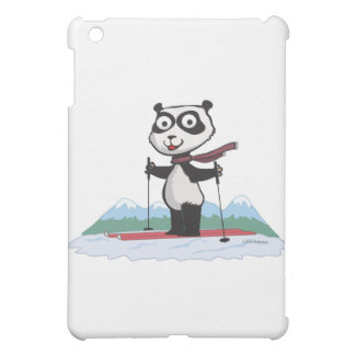 Panda Bear Skiing Case For The iPad Mini