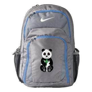 Panda Bear Snacking on Bamboo Backpack