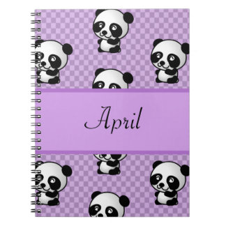 Panda Bears Notebooks