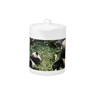 Panda Bears Teapot