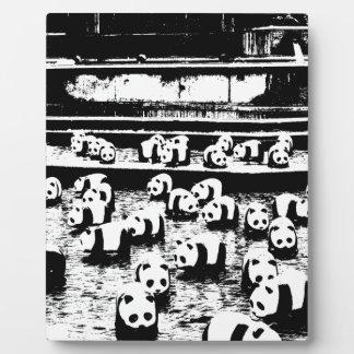 Panda Crew Plaque