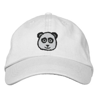 Panda Embroidered Hats
