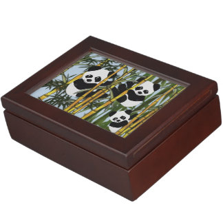 Panda Habitat Keepsake Box