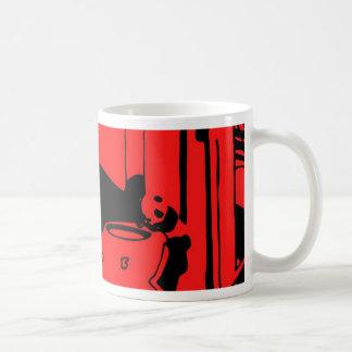 Panda in the Cords Coffee Mug