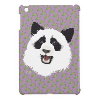 Panda meeting iPad mini covering iPad Mini Case