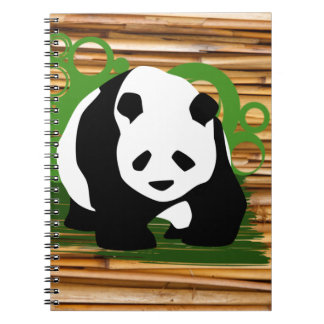 Panda Pride Products Spiral Notebook