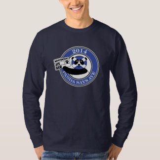 Panda says aye! dark T-shirt