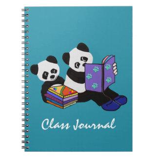 Panda Storytime Journal