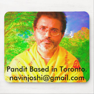 Pandit Based in Toronto.   navinjos... Mouse Pad