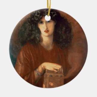 Pandora, 1871 (oil on canvas) christmas ornament