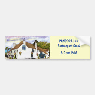 'Pandora Inn' Bumper Sticker Car Bumper Sticker