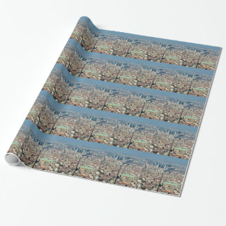 Panorama of Naples Wrapping Paper