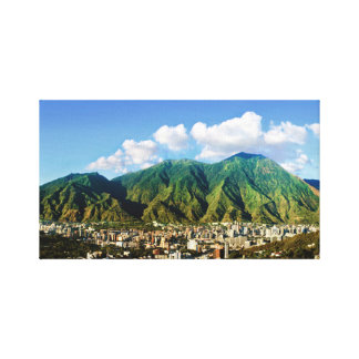 Panoramic view of Avila, Caracas, Vzla Canvas Print
