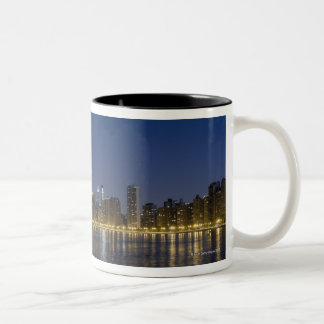 Panoramic view of the northern section of the Two-Tone coffee mug