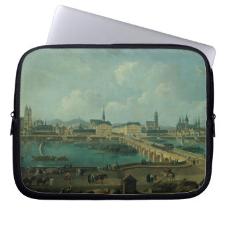 Panoramic View of Tours, 1787 (oil on canvas) Laptop Sleeve