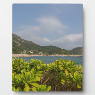 Panoramic view of Tung O Village Lamma Island Plaque