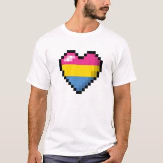 Pansexual Pixel Heart T-Shirt