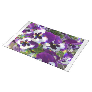 Pansies  Placemat