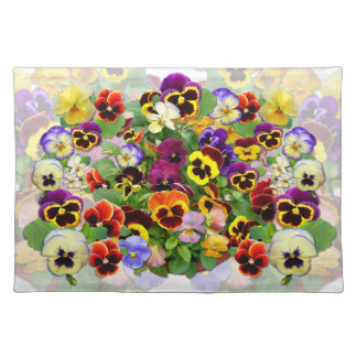 Pansies ~ Placemats # 2