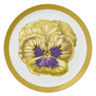 Pansy Drawing Plate