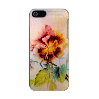 Pansy flower feminine for her incipio feather® shine iPhone 5 case