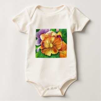 Pansy.jpg Baby Bodysuit