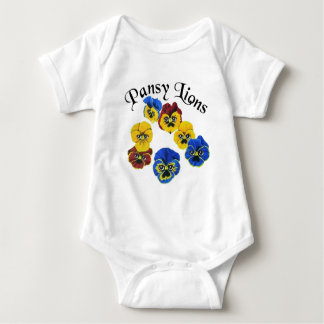 Pansy Lions 1 Baby Bodysuit