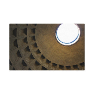 Pantheon Roof in Rome Italy Canvas Print