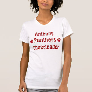 panther, Anthony Panthers Cheerleaders T-Shirt