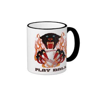 Panther-Baseball-1White-T Ringer Mug