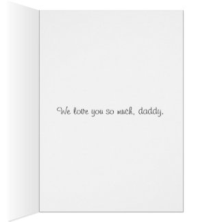 """""""Papa"""" father's day card"""