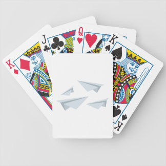 Paper Airplanes Bicycle Playing Cards