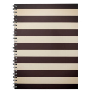 Paper design block with stripes note books
