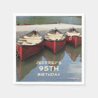 Paper Napkins Birthday Party, 95th Birthday