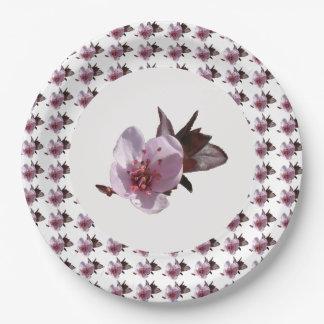 Paper Plate - Cherry Blossom