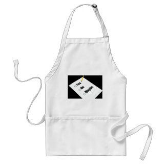 Paper questionnaire yes no maybe pencil apron