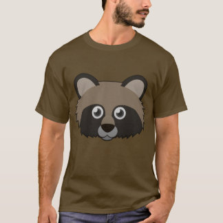 Paper Raccoon Dog T-Shirt