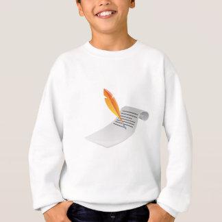 paper sweatshirt